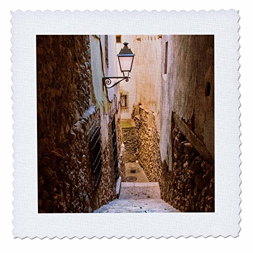 3D Rose Spain Cuenca Alley Quilt Square, 25 x 25'' by 3dRose