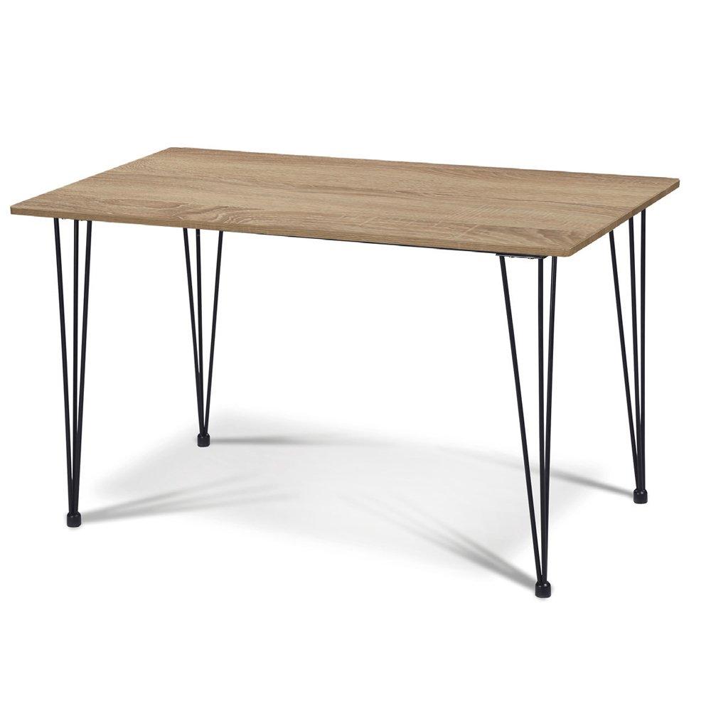 Divina Home Tisch Schreibtisch 120 x 70 x H75 Plan in Holz Möbel Haus dh52269