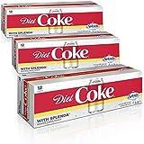 Diet Coke with Splenda Fridge Pack Bundle, 12 fl oz, 36 Pack