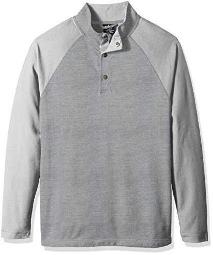 Charles River Apparel Men's Falmouth Pullover, heather grey, L