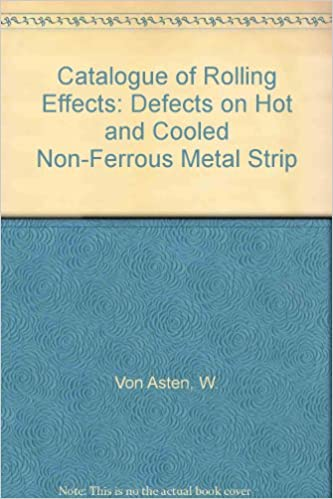 Catalogue of Rolling Effects: Defects on Hot and Cooled Non