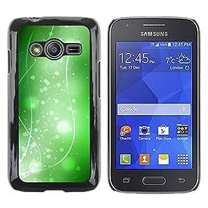 iKiki Tech / Estuche rígido - Nature Beautiful Forrest Green 36 - Samsung Galaxy Ace 4 G313 SM-G313F