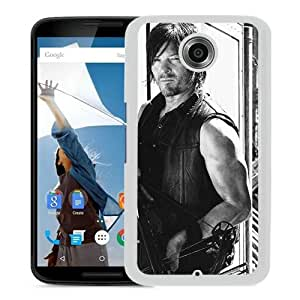 walking dead (2) White Personalized Recommended Custom Google Nexus 6 Phone Case
