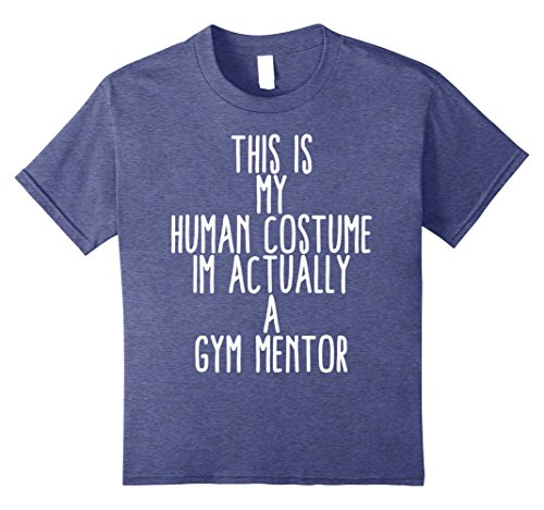 Vampire Costume Ideas For Kids (Kids Human Costume Gym Workout Exercise Mentor Gift Idea 8 Heather Blue)