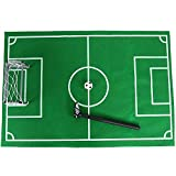 Portable Soccer Goal Post Net Set with Ball Soccer Goal Indoor Outdoor for Kids Toilet Toys