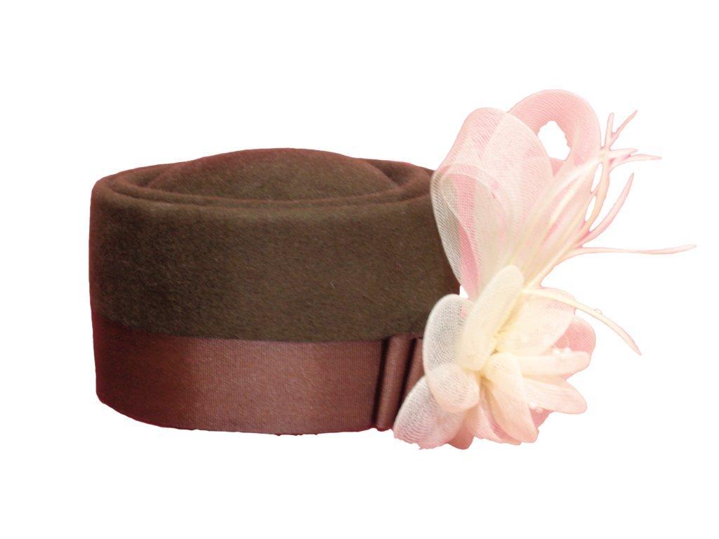 D Bar J Hat Brand, Female, Pill Box, Size 7, Moss Green