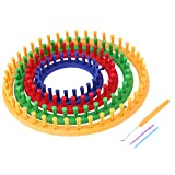 4 Sizes Classical Round Circle Hat Knitter Knitting Knit Loom Kit Wool Yarn Needle Knit Hobby Knitting Machine Sewing Tools
