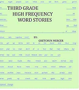 Amazon.com: THIRD GRADE HIGH FREQUENCY WORD STORIES (HIGH FREQUENCY ...