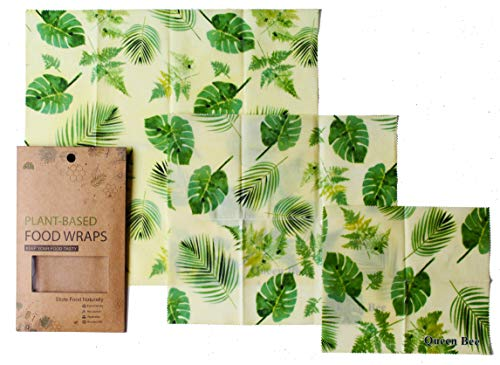 Based Wax - Food Wraps Reusable 100% Plant Based - Assorted 3 Pack. 11