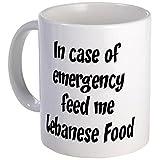 11 ounce Mug %2D Feed me Lebanese Food M