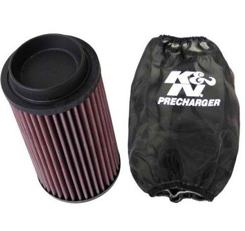 K&N ATV Air Filter + Precharger 2014 Polaris Sportsman 850 XP LE-Browning PL-5509 + PL-1003PK