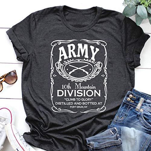 Veteran Shirt 10th Mountain Division Army T Shirts Hoodie