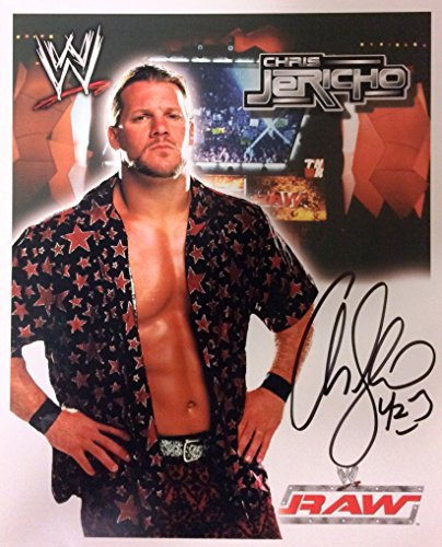 WWE Chris Jericho / Y2J Autographed 8x10 Photo, Early 2000's