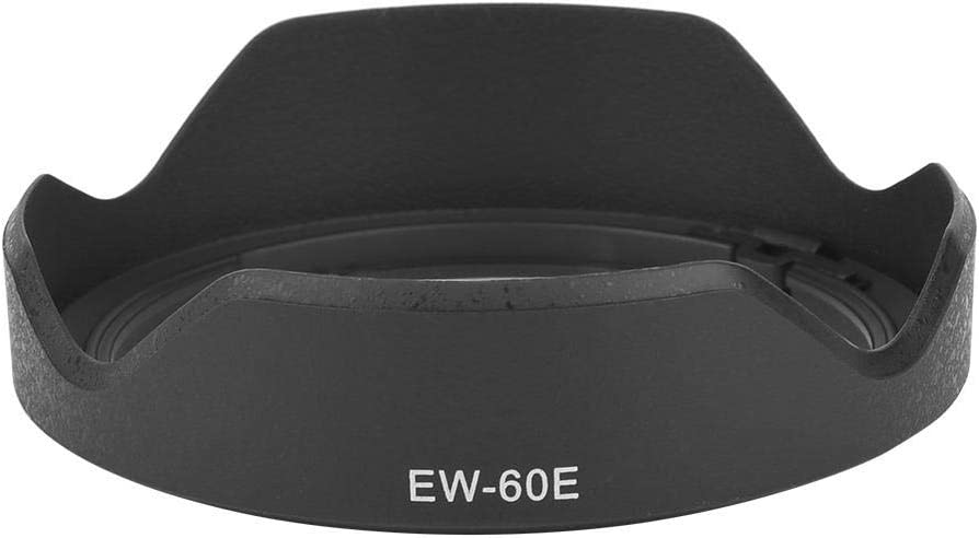 Senyar Camera Lens Hood,EW-60E ABS Plastic Lens Hood for Canon EF-M 11-22mm f//4-5.6