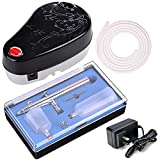Best AW Airbrush Makeup Kits - AW 0.3mm Dual Action Spray Airbrush Black Makeup Review