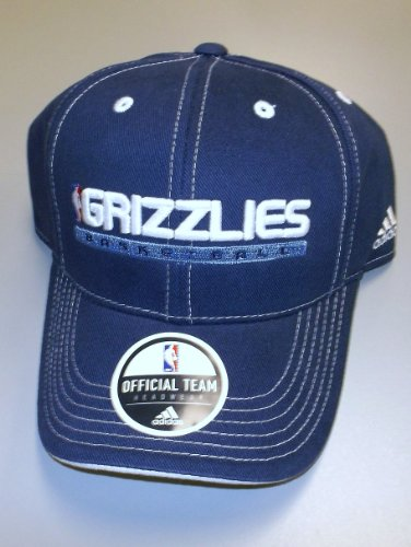 (adidas Memphis Grizzlies Color Block Adjustable Strap Hat - Youth 4-7 YRS - N612B)
