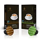 Gourmesso Lungo Bundle - 100 Nespresso kompatible Kaffeekapseln