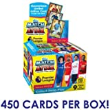 2017-18 Topps Match Attax EPL Cards - 50 Pack Box (9 CARDS PER PACK - TOTAL OF 450 CARDS)