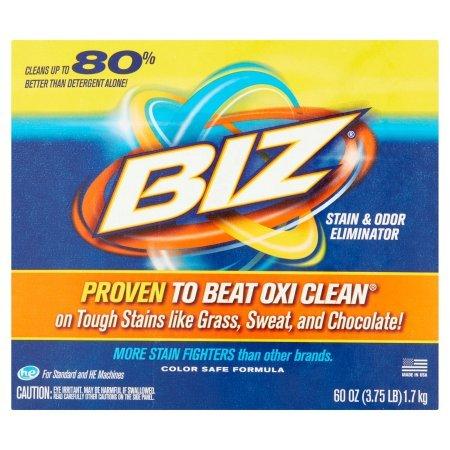 Biz Stain & Odor Eliminator, 60 oz - 5 Pack by Unknown