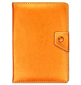 """Plain Premium PU Luxury Leather Folio / Flip Case Stand Cover Protection Skin Wallet Fit For 7"""" 7 inch Android Tablet PC, ASUS GOOGLE Nexus 7, 2.2 EASY TAB, MID, Apad, Epad, 7 inch Amazon kindle fire, Blackberry playerbook, Huawei Mediapad, T-Mobile SpringBoard 7"""", Kobo Vox, Kobo Arc ,Samsung Galaxy Tab SCH-i800, 7"""" Inch Samsung Galaxy Tab P1000 P6200 P3100 P3113 P3110, 7"""" Archos Arnova 7F G3 ,Asus Google Nexus 7"""" ,7"""" CAPACITIVE MULTI TOUCH ANDROID 4.0 Tablet PC ,Acer Iconia A100 7"""" (Brown)"""