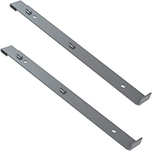 Akro-Mils 98400 Powder Coated Steel Straps for Hanging 19 Series Steel Cabinets, 2-Pack