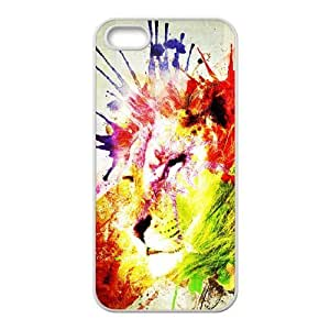 Lion Original New Print DIY Phone Case for Iphone 5,5S,personalized case cover ygtg541128 by lolosakes