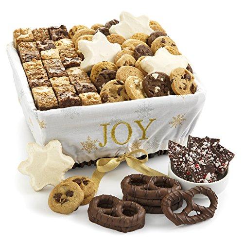 Mrs. Fields Large Pure Joy Cookie Basket, (Pack of 61) (Basket Snowflake Cookie)