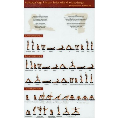 The Ashtanga Primary Series Practice Cha Buy Online In Cayman Islands At Desertcart