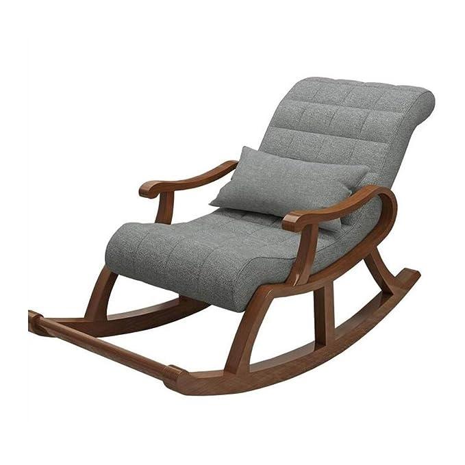 Amazon.com: YQQ-Lazy - Sofá de salón, mecedora, silla para ...