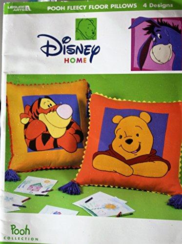Pooh Fleecy Floor Pillows, 4 Designs, Disney Pooh Collection