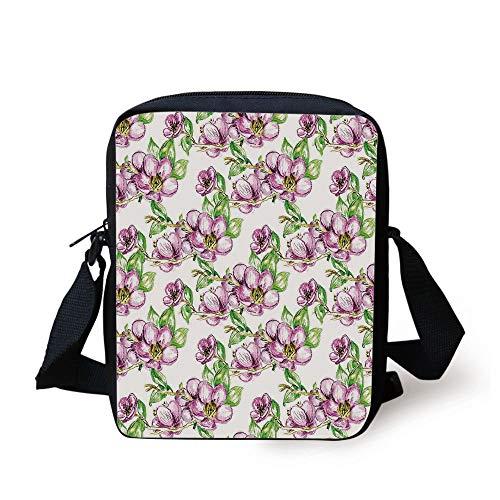 Universe lime Bag Crossbody Grunge Lulabe Sun Decorative Effects Design retro Figure Floral Purse Print Black Vermilion With Kids Messenger Art Green Spiritual Uw4wx70qR