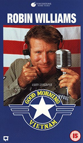Good Morning, Vietnam [VHS] -  VHS Tape, Rated R, Barry Levinson