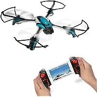 TM USA KAI DENG K80C Pantonma RC Drone Quadcopter with 5 MP Camera, Altitude Hold, Headless Mode, Easy for Beginners (Pantonma with 5 MP camera and SD card) BLUE COLOR