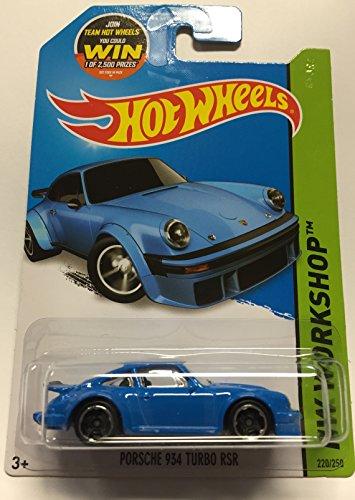 Blue Turbo Wheel (Hot Wheels 2015 HW Workshop Porsche 934 Turbo RSR 220/250, Blue)