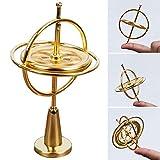 Precision Gyroscope, ITTA Metal Anti-Gravity Spinner Balance Toys Finger Spinner Educational Gift Physics Training Gyro for Kids