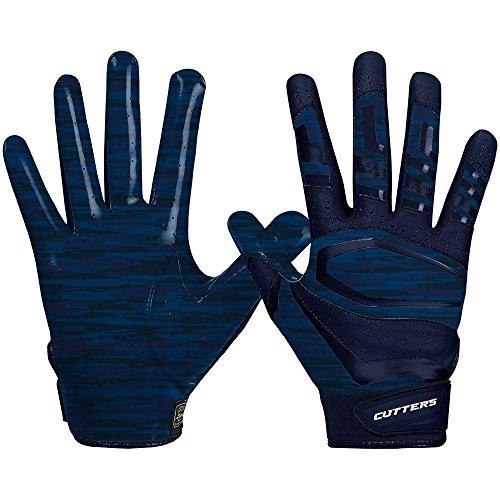 Cutters Gloves Rev Pro 3.0 Receiver Phantom Gloves, Navy Camo, Large