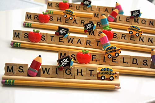 Personalized Teacher desk name plate kindergarten preschool elementary autism school gift