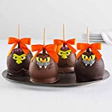 Mrs Prindables Spooky Indulgence Caramel Apple 4-Pack
