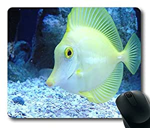 Yellow Fish Selling Meng Masterpiece Limited Design Oblong Mouse Pad by Cases & Mousepads