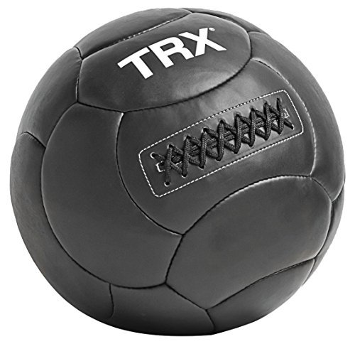 TRX Training Handcrafted Wall Ball with Reinforced Seam Construction, 20 Pounds (9.1 kg)