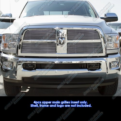 APS Compatible with 2010-2012 Dodge Ram 2500 3500 Billet Grille Grill Insert D66864A