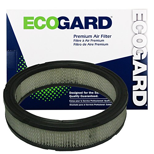 ECOGARD XA45 Premium Engine Air Filter Fits Jeep CJ7, Wrangler, CJ5, Scrambler, Cherokee / Ford Mustang / Jeep J10, Comanche / American Motors Eagle / Dodge B150 / Jeep DJ5, Wagoneer / Dodge D150