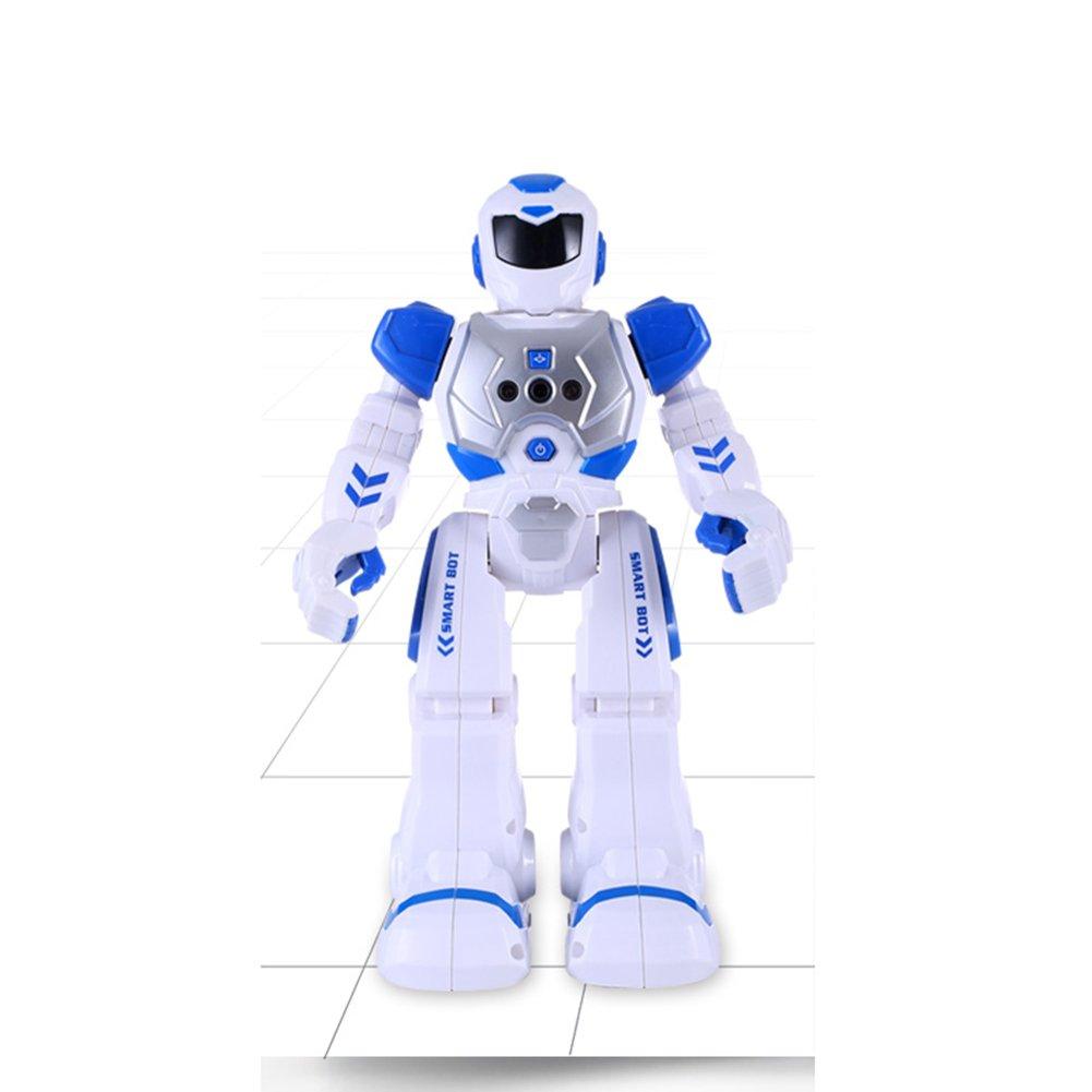 FEI Babyspielzeug Fernbedienung Fernbedienung Fernbedienung Roboter Smart Action Roboter Spielzeug Infrarot Transmitter erlaubt Geste Kontrolle Halloween Geschenk Weihnachten Geschenk Kind Frühe Erziehung (Farbe : Rot) 52f17f