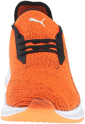 Orange puma Hombre Pumapuma Avid Evoknit 365392 White puma Shocking Black 7q7pvU4