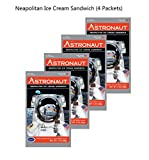 Astronaut Foods Neapolitan Ice Cream, 4 Piece
