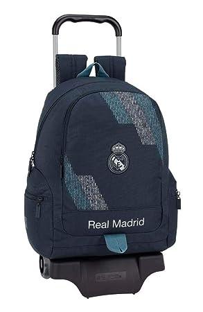 Safta Mochila Y Carro Real Madrid, Unica 611834313: Amazon.es: Juguetes y juegos