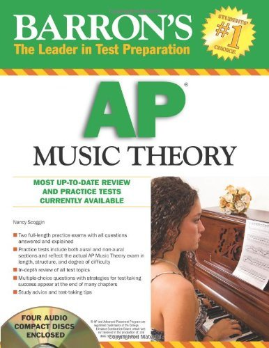 Barron's AP Music Theory with Audio Compact Discs by Nancy Scoggin (2010-02-01)