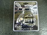 13 Fishing Wicked Clampack Spinning Reel, Silver For Sale
