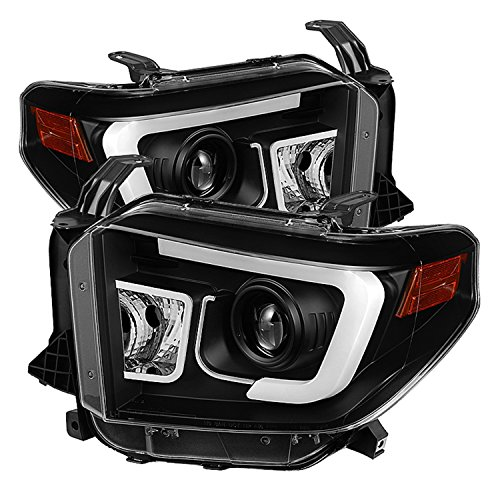 Spyder Auto PRO-YD-TTU14-DRL-BK Toyota Tundra Projector Headlight