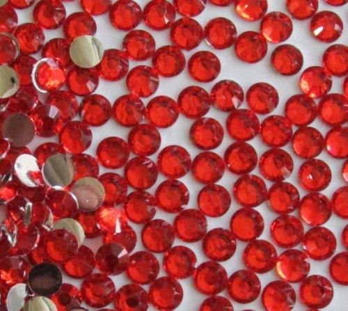 144pcsラウンドFlatback樹脂ラインストーン6mm ( 30ss ) ---レッドby Pixiheartの商品画像